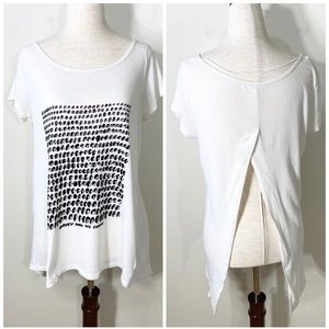 Free People | Davey & The Chains split back tee